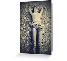 To Drift Greeting Card