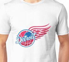 detroit lions logo 7 Unisex T-Shirt