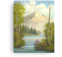 Misty Mountain Splendor Canvas Print