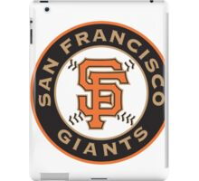 san francisco giants logo iPad Case/Skin
