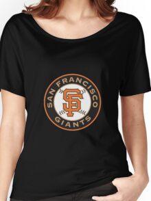 san francisco giants logo Women's Relaxed Fit T-Shirt
