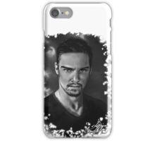 Jay Ryan b/w iPhone Case/Skin