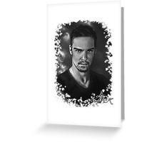 Jay Ryan b/w Greeting Card