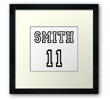 Doctor Who - Smith 11 Framed Print