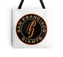 san francisco giants logo 1 Tote Bag