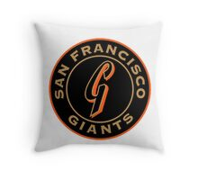 san francisco giants logo 1 Throw Pillow
