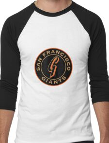 san francisco giants logo 1 Men's Baseball ¾ T-Shirt