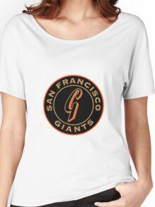 san francisco giants logo 1 Women's Relaxed Fit T-Shirt