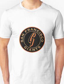 san francisco giants logo 1 Unisex T-Shirt