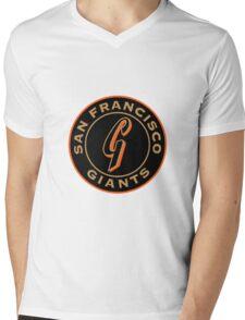 san francisco giants logo 1 Mens V-Neck T-Shirt