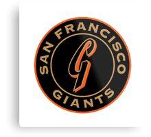 san francisco giants logo 1 Metal Print