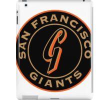 san francisco giants logo 1 iPad Case/Skin