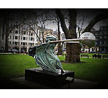 the force of nature head on Photographic Print