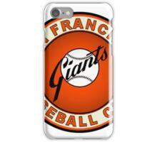 san francisco giants logo 2 iPhone Case/Skin