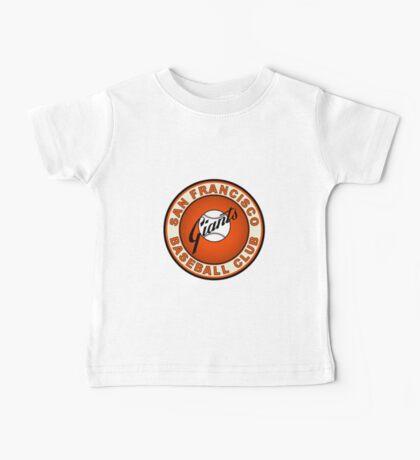 san francisco giants logo 2 Baby Tee