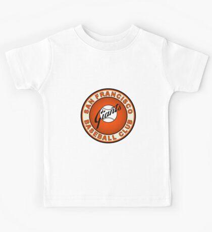 san francisco giants logo 2 Kids Tee