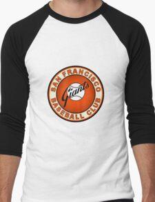 san francisco giants logo 2 Men's Baseball ¾ T-Shirt