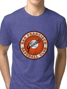 san francisco giants logo 2 Tri-blend T-Shirt