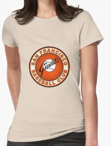 san francisco giants logo 2 Womens Fitted T-Shirt