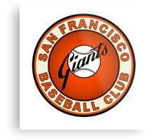 san francisco giants logo 2 Metal Print
