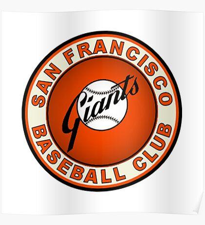 san francisco giants logo 2 Poster
