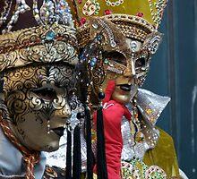Carnevale di Venezia  by Louise Fahy