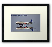 Close to touchdown Framed Print