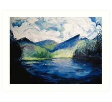 Zempoala Lagoon  Art Print