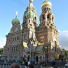 The Church of Our Savior on the Spilled Blood by ToastedGhost