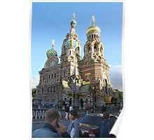 The Church of Our Savior on the Spilled Blood Poster