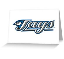 toronto jays logo Greeting Card