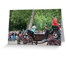 Prince Harry with Camilla Greeting Card