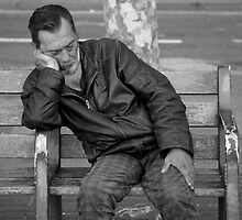 peoplescapes #264, morning snooze by stickelsimages