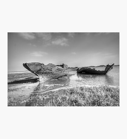 Ghost Wrecks - Fleetwood Photographic Print