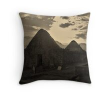 The Old Churchyard- Morvich Throw Pillow