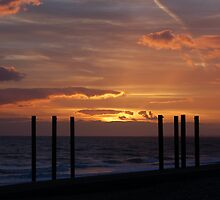 Brighton Beach Sunset 9th March 2011 No2 by jason21