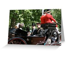 Princes Harry and Andrew Greeting Card
