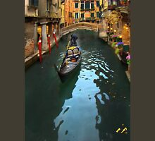 Gondolier In Venice, Italy T-Shirt