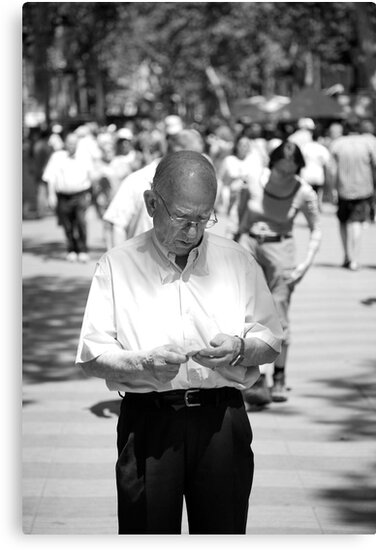 peoplescapes #270, very lost by stickelsimages