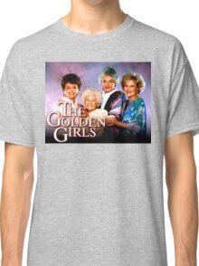 The Golden Girls TV Show Title Classic T-Shirt