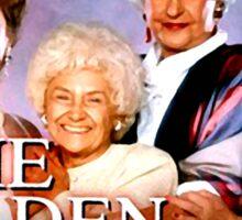 The Golden Girls TV Show Title Sticker