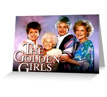The Golden Girls TV Show Title Greeting Card