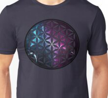 Sacred Geometry: Flower of Life VI - Nebula Unisex T-Shirt