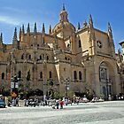 Ancient cathedral in Segovia (Spain) by IKGM