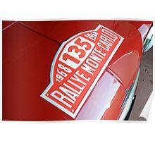 Rallye Monte Carlo Poster