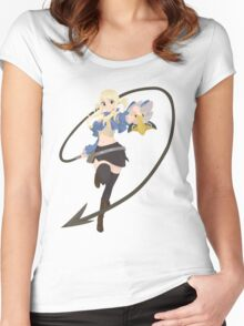 Lucy Heartfilia Women's Fitted Scoop T-Shirt