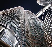 Petronas Towers by Chris Cherry