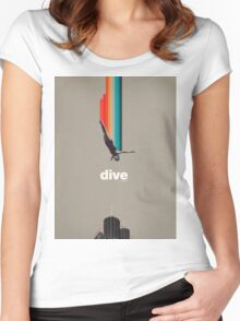 Dive Into My Soul Women's Fitted Scoop T-Shirt