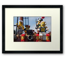 Take a walk Framed Print