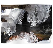 Icicles on the Stream Poster